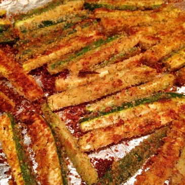 Baked Zucchini Fries | www.thealiconklin.com