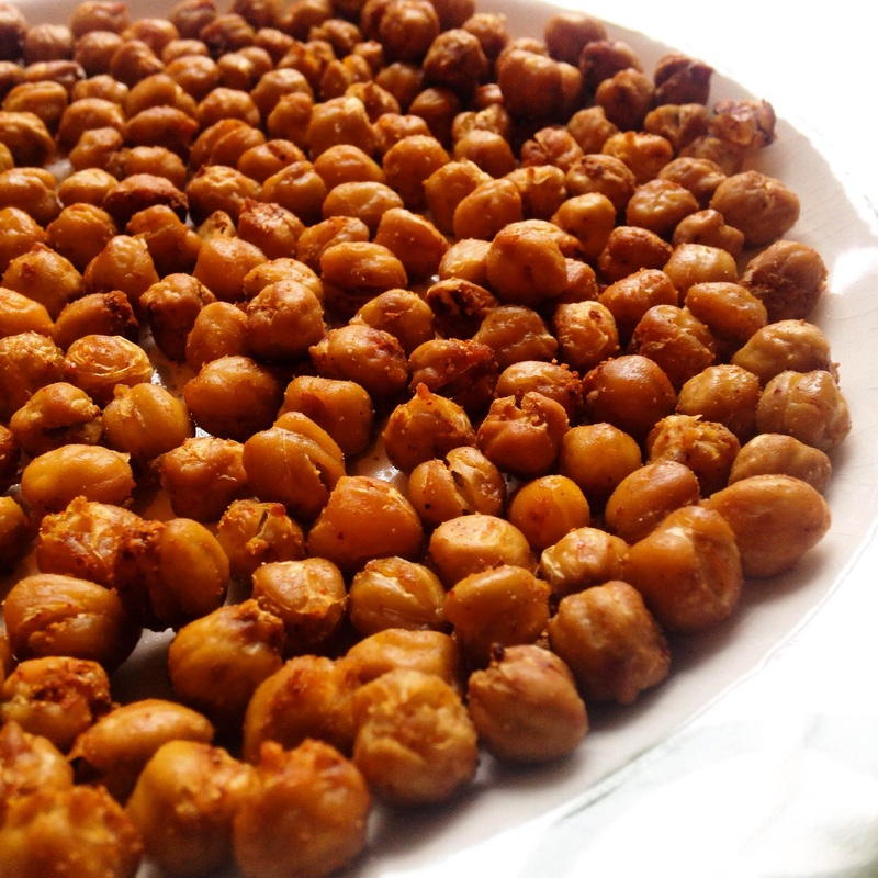 Crispy Spiced Chickpeas | www.thealiconklin.com